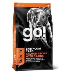 Go! Solutions skin & coat care pašaras suaugusiems šunims ir šuniukams su lašiša, 11,4 kg