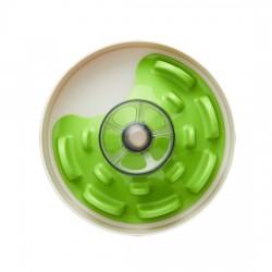 Interaktyvus šunų dubenėlis SPIN Interactive Feeder UFO Maze Green