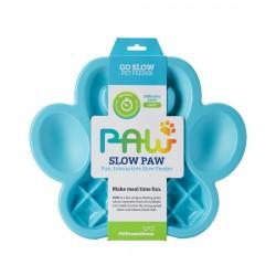 Lėto valgymo dubenėlis šunims PAW Slow Feeder Blue