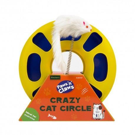 """Žaislas katei """"Crazy Cat Circle"""", 23x7 cm"""