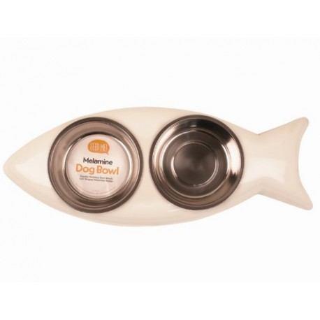 Žuvies formos dubenėliai, 700 ml talpos