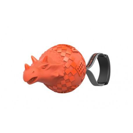 Žaislas šunims GiGwi dinozauras, oranžinis