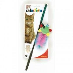 Patvarus žaislas katei – lazdelė