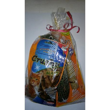Kalėdinė dovanėlė katėms