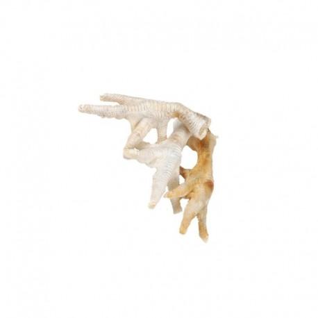 Natūralus kramtalas šunims vištos kojelės, baltos, 6 vnt.