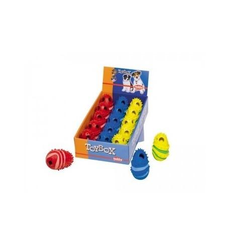 Žaislas šunims - guminis skanėstų kamuolys, 10 cm