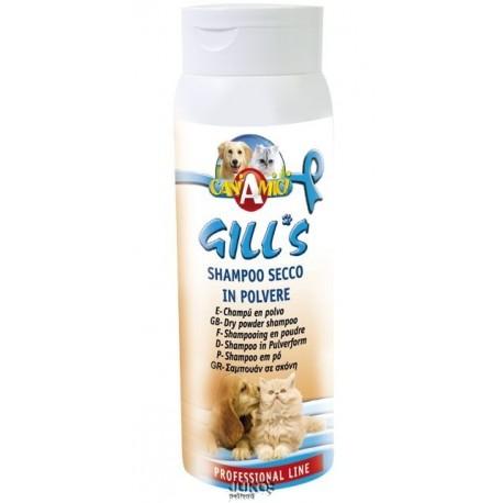 Sausas šampūnas šunims ir katėms Gills Secco, 200 ml