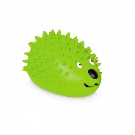 Žaislas šunims guminis skanėstų ežiukas, 8 cm