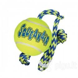 Kong kamuoliukas šuniui su 40 cm ilgio virve
