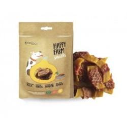 Happy Farm skanėstai šunims su antiena ir moliūgais, 80g